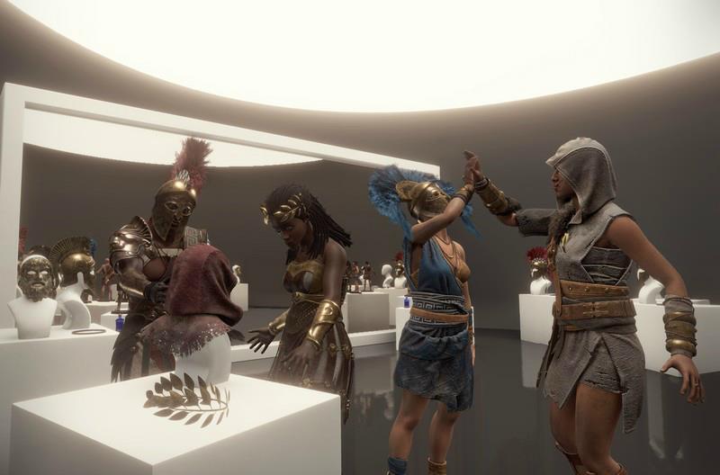 Avatars van de spelers